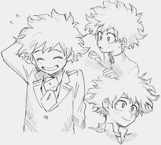 Read ♡KatsuDeku♡ 🔞 from the story ° Anime Drawings Sketches, Anime Sketch, Manga Drawing, Manga Art, Manga Anime, Art Drawings, Anime Art, My Hero Academia Memes, Hero Academia Characters