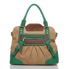 Another cute bag, love the green accent!