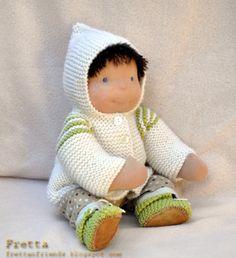 Waldorf boy doll