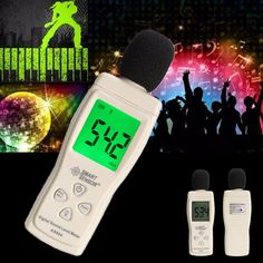 Features:      Low battery indication  Max hold function  Auto backlight display  This sound level meter is very small and light. It is an ideal tool to measure Sound Pressure Level in decibels (dB)  It is used for sound quality control in factory, office, home, school, restaurant, hospital and construction site, etc        Specification:      Measurement range: 30~130dBA  Accuracy: ±1.5dB  Frequency response: 31.5~8.5KHz  Resolution: 0.1dB  Sampling rate: 2 times/second  Frequ