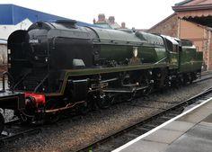 Braunton at Minehead Station on the West Somerset Railway.
