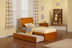 Shop Atlantic Furniture Madison Caramel Latte Flat Panel Footboard Twin Urban Trundle Bed with great price, The Classy Home Furniture has the best selection of Kids Beds, Beds to choose from Platform Bed With Drawers, Twin Platform Bed, Upholstered Platform Bed, Full Size Trundle Bed, Trundle Beds, Daybed, Modern Queen Bed, Atlantic Furniture, Murphy Bed Plans