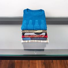 Stacked and near ready to go. We're prepping the Story Spark Select tees for our first event on April 30 in Pasadena CA.  #mensgiftideas