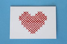 4 Sweet & Simple DIY Valentine's card ideas from Brit + Co.