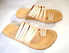 Flip Flop Leather slippers Indian sandal Online shoes Leather Shoe Sandal Shoes. A truly inspirational work from artisan, work full of art, handmade traditional pair of flats. Leather Flats - Upper, Sole and Bottom made from pure leather. | eBay!
