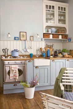 Vintage style kitchen.