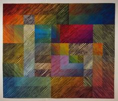 Carnival by Jan Myers Newberry, saw this quilt at Quilt National at the Dairy Barn in Akron, Ohio last weekend.