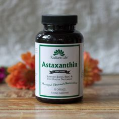 Natures most powerful antioxidant.   Astaxanthin  ) is a   - 550 times the antioxidant strength of Vitamin E and6000 times that of Vitamin C! While astaxanthin has been available for years, recent research has highlightedthe properties of this remarkable, naturally-occurringcarotenoid and brought it out into the mainstream. Astaxanthin has been shown to promote skin health, support endurance, offer immune support, encou...