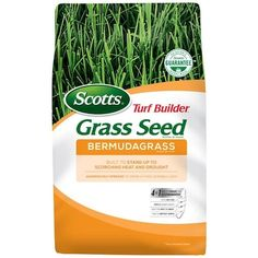 Grass & Grass Seed at Lowes.com Grass Seed For Shade, Best Grass Seed, Bermuda Grass Seed, Turf Builder, Polycarbonate Greenhouse, Grill Island, Growing Grass, Grass Type, Bahia