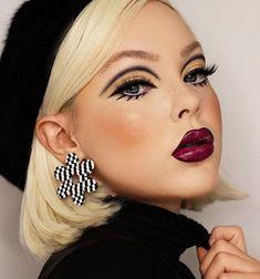 Sixties Makeup, Twiggy Makeup, Retro Makeup, Vintage Makeup, Glam Makeup, Makeup Inspo, Makeup Inspiration, Show Makeup, Pin Up Makeup