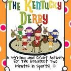 "This ""horsey"" craft has a lot of VOICE!  You will find:    *a fact page about The Kentucky Derby  *a web organizer  *KY Derby themed writing paper  *Dir..."
