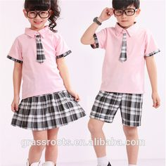 school uniform designs - Google Search Sports Uniforms, Girls Uniforms, Baby Boy Outfits, Kids Outfits, Cool Outfits, School Uniform Outfits, Uniform Ideas, Clothes Worksheet, French Toast School Uniforms