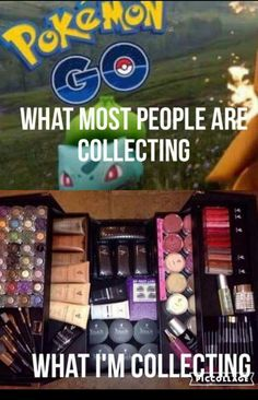 Okay I had to post this in know I know that POKEMON Go is the biggest thing rite now .. But just want to say why all u guys are trying to collect POKEMON I'm over here trying to collected makeup and new customer's  www.youniqueproducts.com/MaryBrennan. So who would love to collect some NEW awesome Makeup ???? Comment below or send me a message if you're in