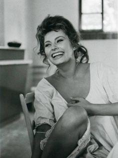 Vintage beauty, Sophia Loren by Alfred Eisenstaedt, 1961