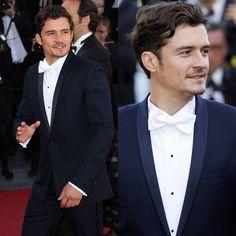 "Male Fashion Trends: Orlando Bloom en Dior Homme – ""Zulu"" Screening at Cannes…"