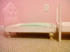 how to make a american girl doll bed for julia