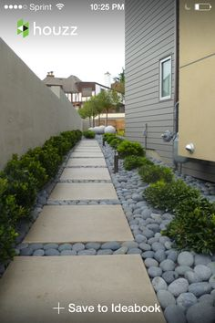 Steal these cheap and easy landscaping ideas for a beautiful backyard. Get our best landscaping ideas for your backyard and front yard, including landscaping design, garden ideas, flowers, and garden design. Side Yard Landscaping, Landscaping With Rocks, Modern Landscaping, Landscaping Ideas, Walkway Ideas, Stone Landscaping, Modern Backyard, Sideyard Ideas, River Rock Landscaping