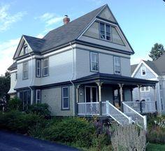 2012 Lemon Victorian - Lubec, Maine by Historic House Colors