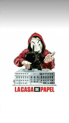 Wallpaper de La Casa De Papel #LaCasaDePapel #Wallpaper #PapelDeParede #Tokio #Berlin