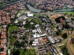 Campus da Universidade Estadual de Campinas (Unicamp) (Foto: Antoninho Perri / Ascom /Unicamp)