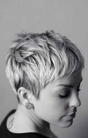 Image result for white hair pixies style