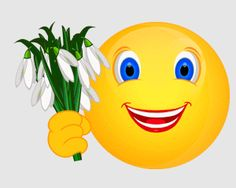 Smiley – Schneeglöckchen