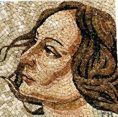 """""""Profil"""" 35x35cm. marbre"""