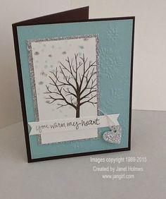 Jan Girl: Stampin' Up Sheltering Tree cards