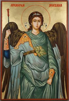 High quality hand-painted Orthodox icon of St Archangel Michael Large. BlessedMart offers Religious icons in old Byzantine, Greek, Russian and Catholic style. Orthodox Catholic, Orthodox Christianity, Byzantine Art, Byzantine Icons, St Michael Prayer, Greek Icons, Catholic Pictures, Paint Icon, Beautiful Muslim Women