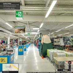 Google Street View Innenansicht // Decathlon Esslingen - April 2014 #StreetViewTrusted #GoogleStreetView  www.panomondo.com