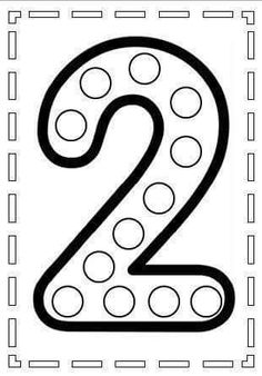do a dot number 2 Preschool Learning Activities, Preschool Worksheets, Preschool Activities, Kids Learning, Kindergarten Math, Numbers Preschool, Learning Numbers, Pre K Worksheets, Do A Dot
