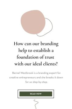 How to Build a Brand Your ICA's Trust with Bernel Westbrook