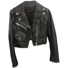 Pre-owned Alexander Wang Leather Black Jacket and other apparel, accessories and trends. Browse and shop 8 related looks.