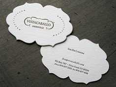 business card - use silhouette machine