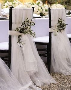 Wedding reception flowers, wedding chair décor, wedding flower arrangement, add pic source on comment and we will update it. www.myfloweraffair.com