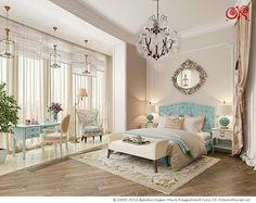 Дизайн интерьера спальни совмещенной с балконом http://www.ok-interiordesign.ru/ph18_bedroom_interior_design.php