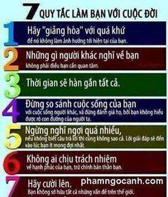7 quy tắc làm bạn với cuộc đời
