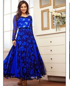 Buy Charming Blue Bollywood Salwar Kameez [APRG854] at ₹ 3,036.97
