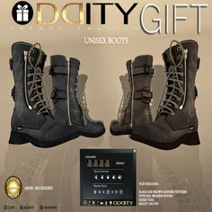 THIRD LIFE [ Frees, Gifts & Hunts ]: ODDITY - UNISEX BOOTS