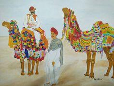 Original Airplane Painting by Shravani Somayajula Airplane Painting, Original Art, Original Paintings, Camels, Conceptual Art, Art Oil, Buy Art, Paper Art, Watercolor Paintings