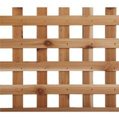 Real Wood Products 4' x 8' Privacy Cedar Lattice Panel - L3150