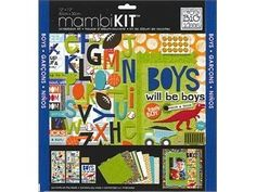 Me and My BIG Ideas SRK-68 12-Inch by 12-Inch Scrapbook Page Kit, Boys Will Be Boys by Me & My BIG Ideas, http://www.amazon.com/dp/B0082A3RQ4/ref=cm_sw_r_pi_dp_zeG.qb0EEY86T