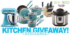 https://wn.nr/nhhrnc  KitchenAid Mixer, Rachael Ray Cookware, Instant Pot & Cuisinart Knife Set & Block Giveaway!