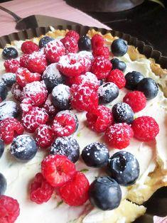 Tarte au Mascarpone & aux Fruits des Bois / Tarta de Mascarpone y Frutos del Bosque (Frutos rojos)