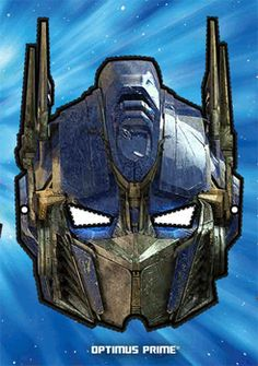 free transformer masks to print