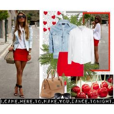 """""""Hot red"""" by blueeyessx on Polyvore"""