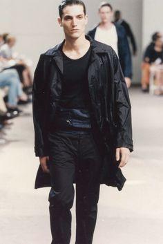 Helmut Lang Spring 1998 Menswear Fashion Show
