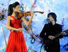 Vanessa Mae, violinist