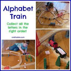 Alphabet Train - Craftulate