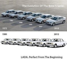 Lada. Perfect from the beginning.
